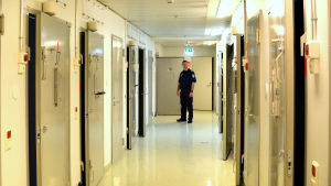 Korridor i polishäkte,