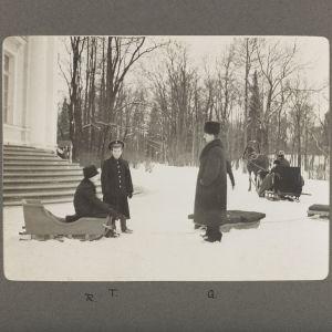 Lek i vintermiljö, Tsarskoje Selo