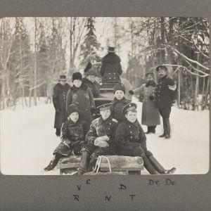 Bilderna från Tsarskoje Selo är tagna 1915.