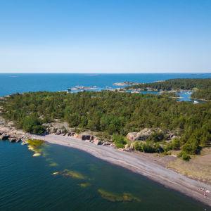 flygbild av Jussrö
