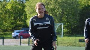 Riikka Ketoja, TPS träningar, våren 2017.