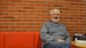 Restaurangbåten Sunnan 2:s tidigare ägare Björn Lindqvist.