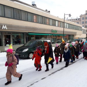 Eftisbarn i Jakobstad.