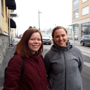 Daniela Ilk och Pernilla Howard