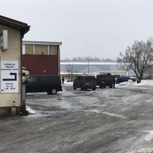 Poliisilla oli tehtävä Turun Kupittaalla 24.2.2021.