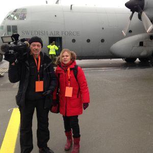 Ingemo Lindroos rapporterar om Nordiska snabbinsatsstyrkan.
