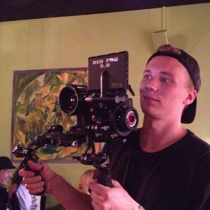 Kameramannen Max Smeds