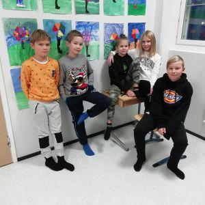 Mico Isoaho, Erika Salmela, Neela Määttälä, Robin Uusitalo.