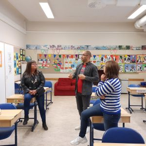 Lagmans skola i Jakobstad.
