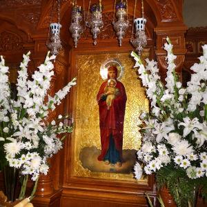 Ikoni Valamon luostarissa