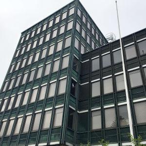 Höghus i Kampen i Helsingfors. Fastigheten tillhör Nuorisosäätiö.