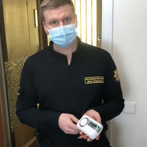 Kårchef Jens Tegengren