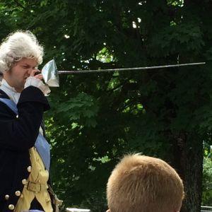 Alexander Wendelin som kung Gustav III