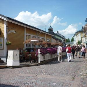 Gamla stan i Borgå.
