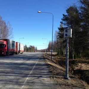 Riksväg ått i Kronoby.