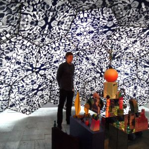 """Timo Vaittinens verk på utställningen """"Tillsammans"""" på Kiasma sommaren 2014."""