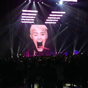 Miley Cyrus i Helsingfors.