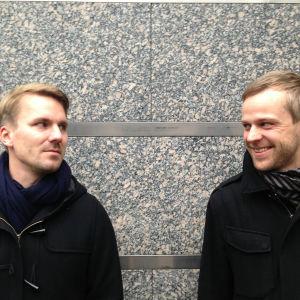 Arkkitehdit Auvo Lindroos ja Heikki Riihiluhta