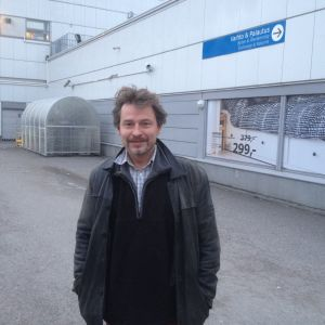 Forskardoktor Mika Helander vid ÅA