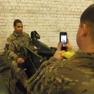 Amerikanska soldater i Estland.