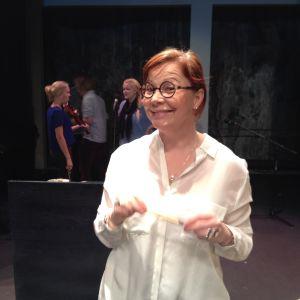 Heidi Finnilä ledde ordet i Debattävling 2015.