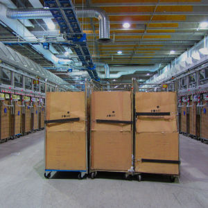 Postens Logistikcentralen i Ilmala
