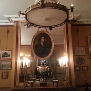 George Sands porträtt på Musée de la Vie romantique i Paris