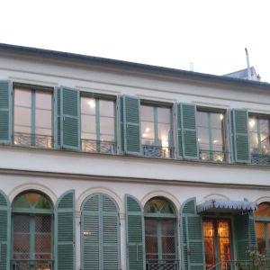 Ary Scheffers hem i Paris, i dag Musée de la Vie romantique