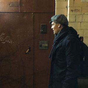 Tero Karhu sohvasurffaa Moskovassa