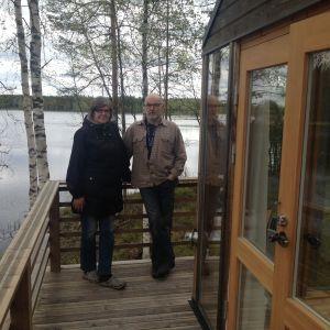 Ulla-Beth Mäki-Jussila och Henrik Wiik har byggt upp Emmes Retreat sedan 2012.