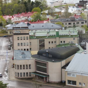 Hangö stadshus.