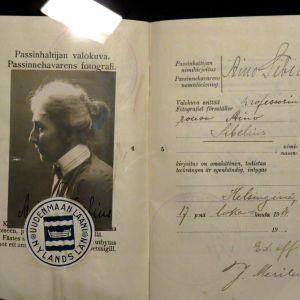 Aino Sibelius pass