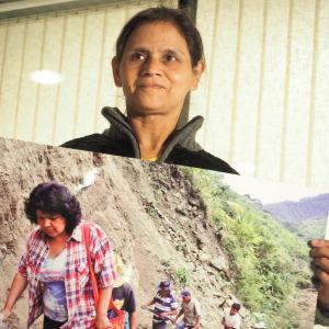Rosalina Dominguez, Berta Cáceres