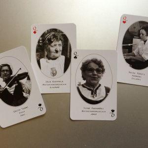 Mestaripelimanneja pelikorteissa