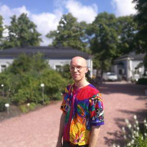 Roh Petas i Kajsaniemi i Helsingfors sommaren 2018.