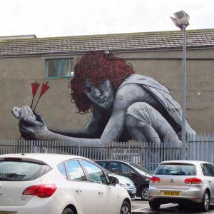 Graffiti i Belfast