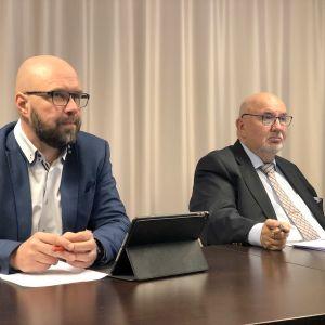 Kim Beg och Lars Gästgivars.