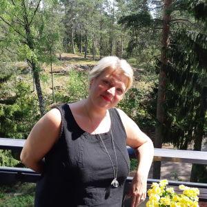 Mela, Mikaela Nyholm på sin balkong. Maj 2019