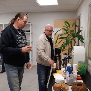 Tommy Bäck och Juha Kainulainen.