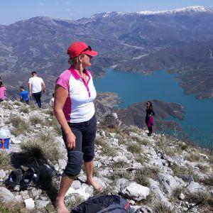 Fredrika Nyberg bor i Albanien