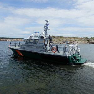 Gränsbevakning i åländska vatten