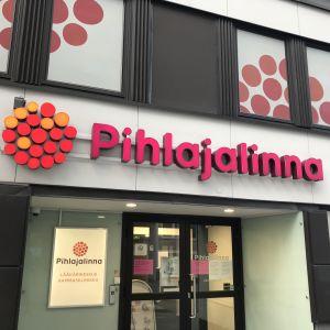 Lääkärikeskus Pihlajalinnan sisäänkäynti Jyväskylässä.