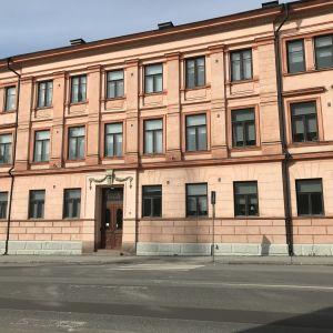 Porissa sijaitseva Hotelli Otavan rakennus.