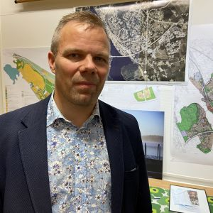 Ähtärin kaupunginjohtaja Jarmo Pienimäki.