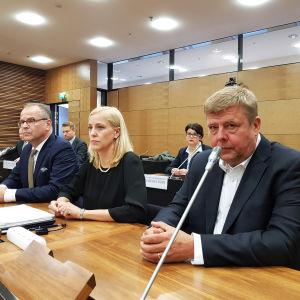Talvivaaran arvopaperimarkkinaoikeudenkäynti 22.10.218 Helsingin hovioikeus