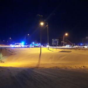 Trafikolycka i Kvevlax.