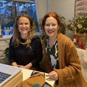 SaimaaLifen yrittäjä Mari Pennanen ja Hotelli Punkaharjun johtaja Saimi Hoyer