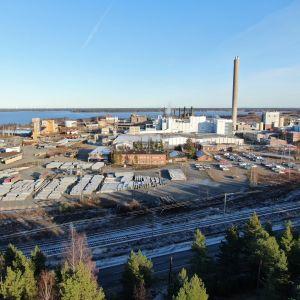 Venatorin pigmenttitehdas Kaanaan teollisuusalueella Porissa