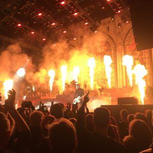 Ghost live i Helsingfors 28.11.2019. Stora eldsflammor..