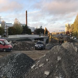 Savilahdentien uusi silta Kuopiossa
